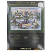 A Treasured Time Counted Cross Stitch Kit